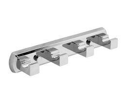 Крючок настенный WasserKRAFT Lippe K-6574, 4 крючка