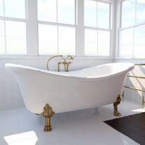 Ванна на опорах ФЭМА Стиль ГАБРИЭЛЛА 189 см (лапы) черный (RAL9005)