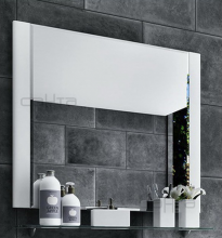 Зеркало СанТа Виктория 80 700011 с полочкой
