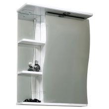 Зеркальный шкаф СанТа Волна 50 с подсветкой R
