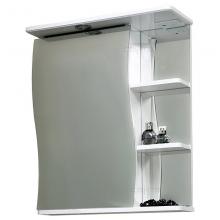 Зеркальный шкаф СанТа Волна 55 с подсветкой L