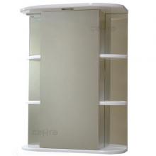 Зеркальный шкаф Герда 50 свет, фацет СанТа