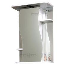 Зеркальный шкаф Лира 55 свет СанТа
