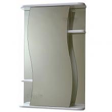 Зеркальный шкаф СанТа Лира 60 белый