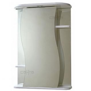 Зеркальный шкаф Лира-60 свет СанТа