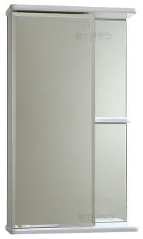 Зеркальный шкаф Ника-40 фацет, лев СанТа