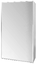 Зеркальный шкаф Стандарт 55 фацет СанТа