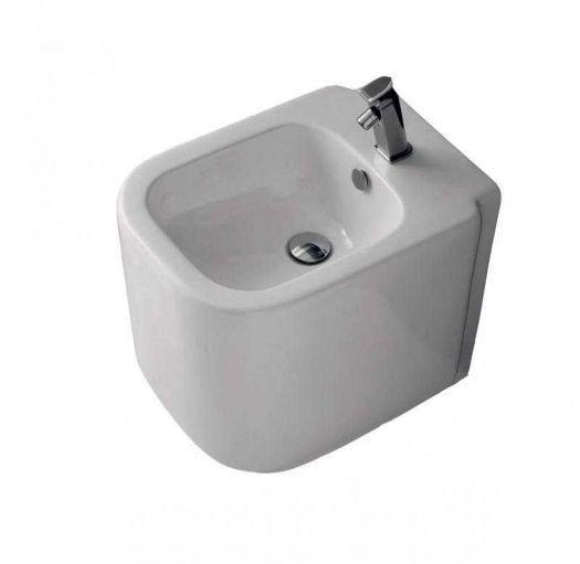 Биде напольное Althea Ceramica D-Style 40035 белый