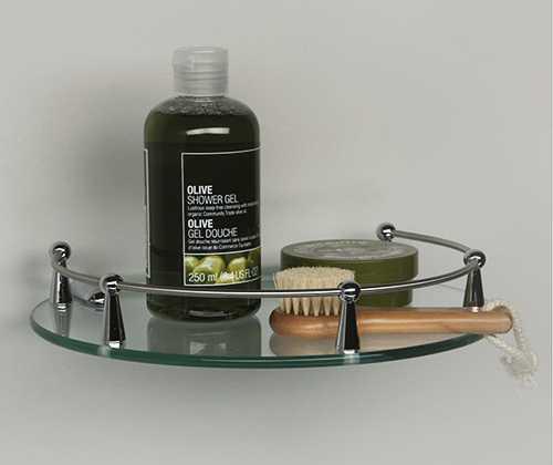 Полка стеклянная WasserKRAFT K-566