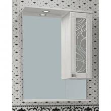 Шкаф-зеркало Альфа Кристалл 65 ASB-Mebel