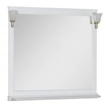Зеркало Aquanet Валенса 110 белое матовое арт.180291