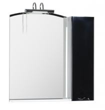 Зеркало Aquanet Асти 85 белое (фасад черный) арт.177790
