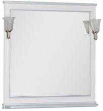 Зеркало Aquanet Валенса 100 белое матовое арт.180290