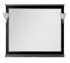 Зеркало Aquanet Валенса 100 черный каркалет/серебро арт.180290