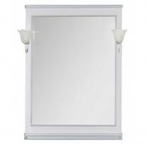 Зеркало Aquanet Валенса 80 белый каркалет/серебро арт.180144