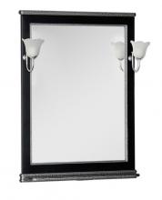 Зеркало Aquanet Валенса 80 черный каркалет/серебро арт.180144