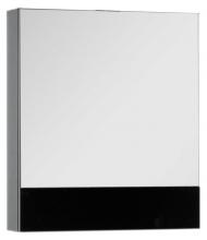 Шкаф-зеркало Aquanet Верона 60 чёрный арт.175384