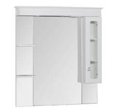 Зеркало-шкаф Aquanet Греция 110 белый арт.171544