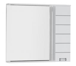 Зеркало-шкаф Aquanet Доминика 100 белый арт.171922