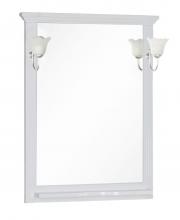 Зеркало Aquanet Лагуна 75 белый-матовый 175306