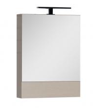 Шкаф-зеркало Aquanet Нота 60 светлый дуб 158856