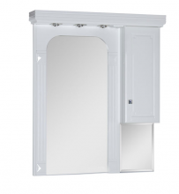 Зеркало Aquanet Фредерика 105 белый арт.171272