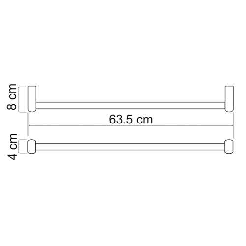 Полотенцедержатель WasserKRAFT Berkel K-6830
