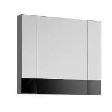 Шкаф-зеркало Aquanet Верона 100 чёрный 175383