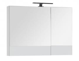 Шкаф-зеркало Aquanet Верона 90 белый 172339
