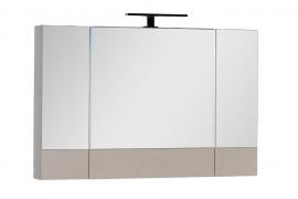 Шкаф-зеркало Aquanet Нота 100 светлый дуб 158859