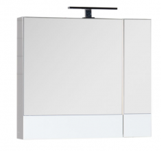 Шкаф-зеркало Aquanet Нота 75 белый 165130