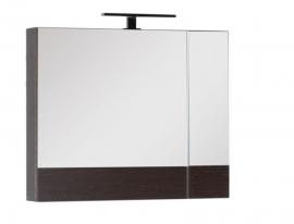 Шкаф-зеркало Aquanet Нота 75 венге 159109