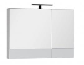 Шкаф-зеркало Aquanet Нота 90 белый 165371