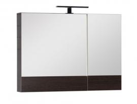 Шкаф-зеркало Aquanet Нота 90 венге 159110