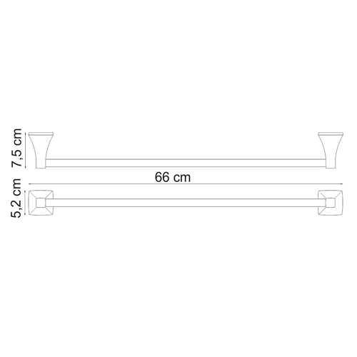 Полотенцедержатель WasserKRAFT Wern K-2530