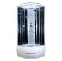 Душевая кабина AquaPulse 4102В grey black (90х90х220)