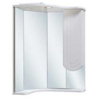 Зеркало-шкаф навесной Runo Бис 40 угловой с левым крылом