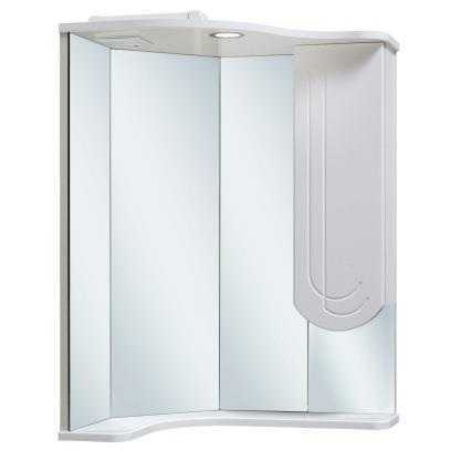 Зеркало-шкаф Runo Бис 40 угловой с левым крылом