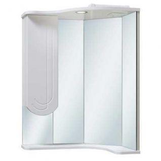 Зеркало-шкаф навесной Runo Бис 40 угловой с правым крылом