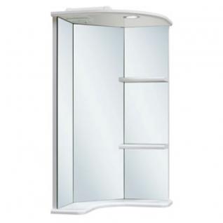 Зеркало-шкаф навесной Runo Браво 40 угловой