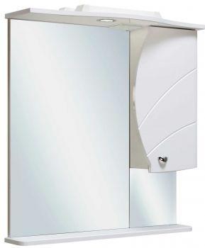Зеркало-шкаф навесной Runo Глория 70 правый