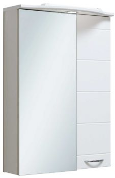 Зеркало-шкаф навесной Runo Кипарис 50