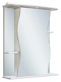 Зеркало-шкаф навесной Runo Лилия 55 правый