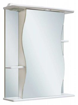 Зеркало-шкаф Runo Лилия 55 правый