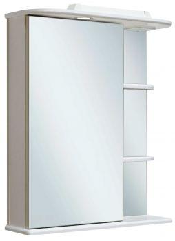 Зеркало-шкаф навесной Runo Магнолия 50 левый