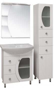 Зеркало-шкаф навесной Runo Линда 60