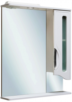 Зеркало-шкаф навесной Runo Толедо 75 правый