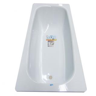 Стальная ванна ВИЗ Donna Vanna 160 с антибактериальным покрытием, белая