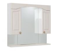 Зеркало-шкаф Onika Арно 90.01 белое дерево