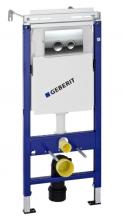 Инсталляция Geberit Plattenbau UP182 458.122.21.1 (458.162.21.1) с кнопкой 115.125.21.1, хром